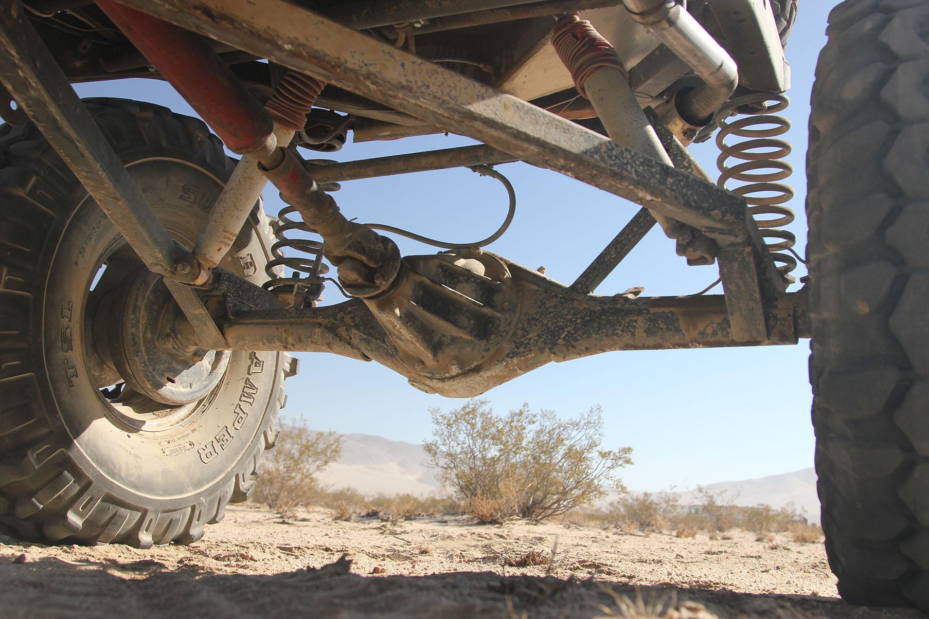Trevor Hall's Toyota Hilux: The Crawler