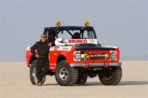 One More Time: Rod Hall Straps In For 2016 NORRA Mexican 1000