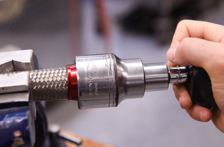 : new tip from koul tools for installing an fittings
