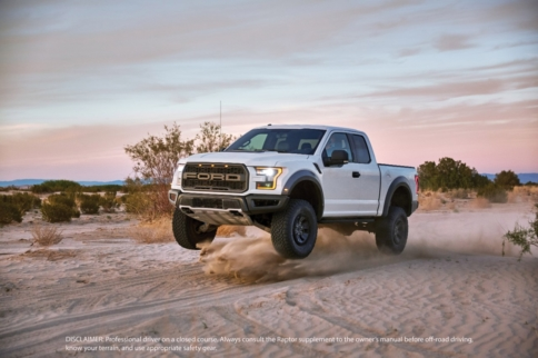 Video: 2017 Ford Raptor Finally Gets To Have Some Fun