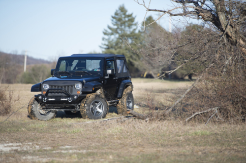 Video: Extreme Terrain Takes A Two Door Jeep Up A Level