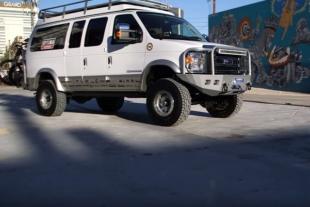 Video: A Closer Look At Optima's 4x4 Econoline Van