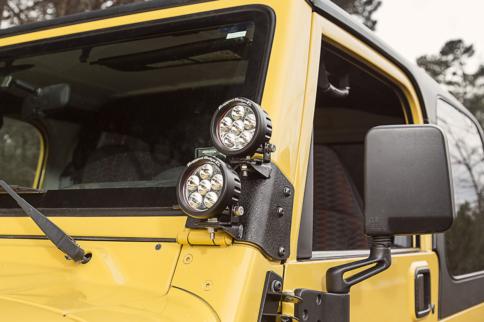 Rugged Ridge Announces Light Mounts For 1997-2006 Jeep Wranglers