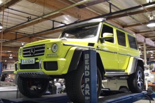Video: Inspecting The Monster Mercedes G500 4x4²