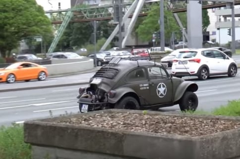 Video: A Baja Bug Gets A Battlefield Makeover