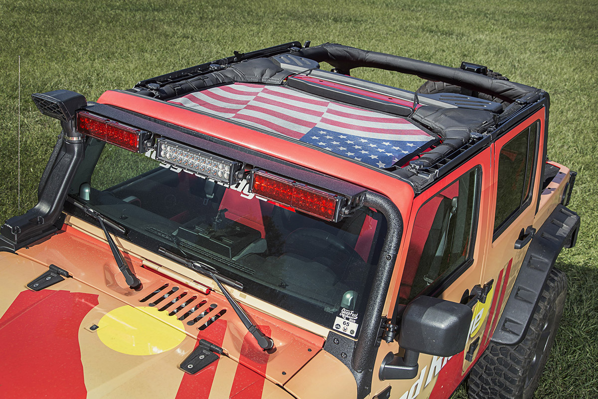 Just jeeps bikini tops parameters