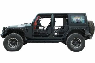 Paramount Automotive's New 07-16 Jeep Wrangler JK Safari Doors