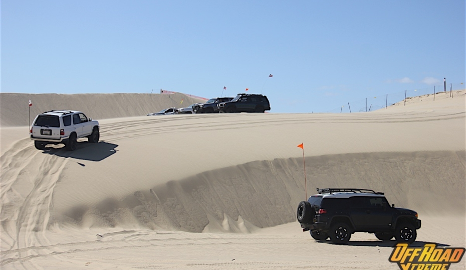 Outdoor Overview: Oceano Dunes SVRA