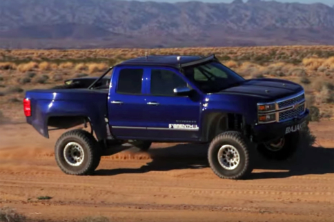 BajaKits Now Offering Chevy Silverado Long Travel Race Kit