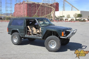 Taking Indestructible To The Next Level: Tom King's Jeep Cherokee XJ