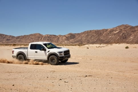 Video: 2017 Ford Raptor Adds Baja Driving Mode