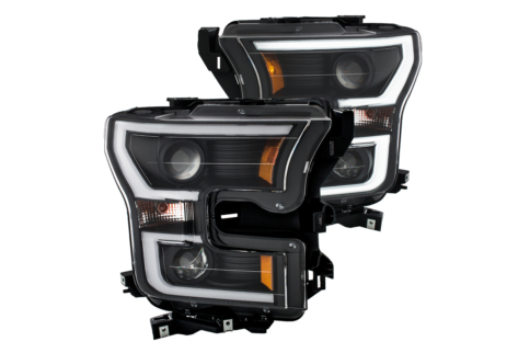AnzoUSA Releases Plank Style Headlights For 2015-16 F-150s
