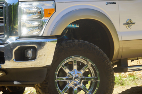 Superlift Launches Ford Super Duty Coilover Conversion Kits