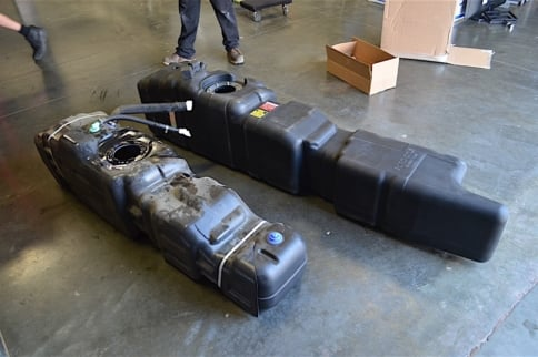 Tanked Up: Titan Fuel Tanks Mid-Ship Tank Install On A Ford F-350