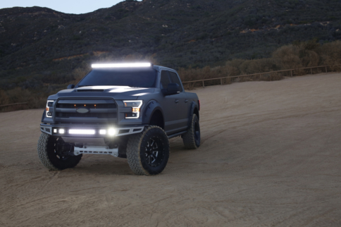Anzo Introduces Switch Back LED Headlight For 2015-16 Ford F-150
