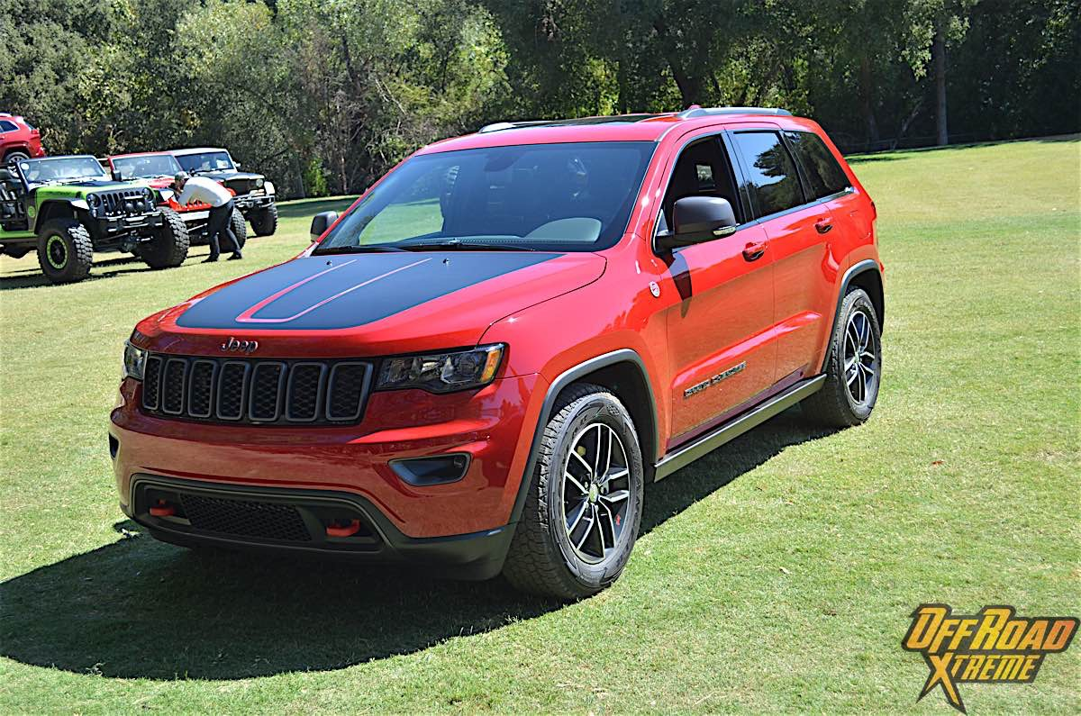 Time On The Trail With 2017 Jeep Grand Cherokee Trailhawk