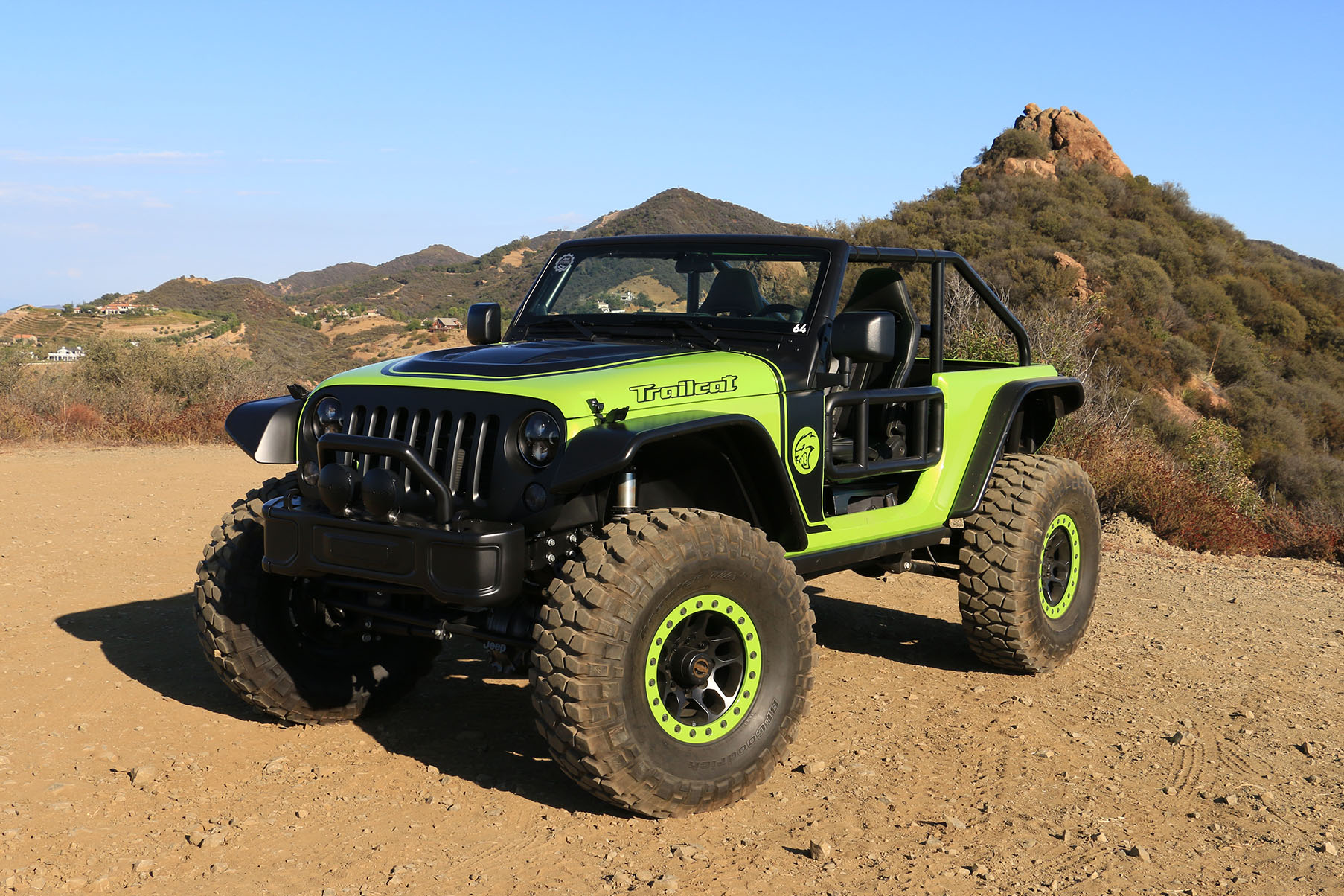 Behind The Wheel Of The 707 Hp Jeep Trailcat Concept