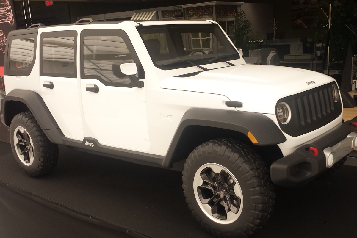 Concept Or Real Is This The New Jl Wrangler