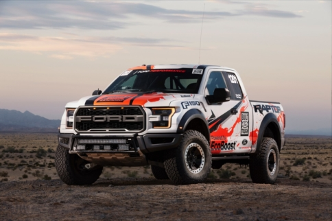 Video: 2017 F-150 Raptor to race in Baja 1000
