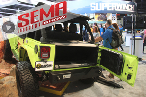 SEMA 2016: Bestop Suits Up The Wrangler JK