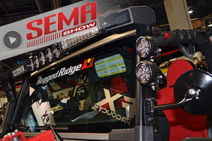SEMA 2016: Rugged Ridge Outfits The Jeep JK With New Accessories