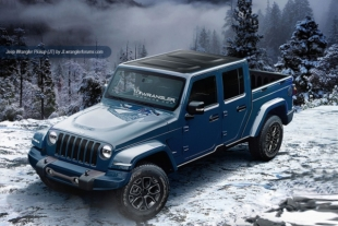 2018 Wrangler Renderings Don't Stray From What Works