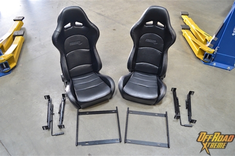 Spotted In The Shop: Procar By Scat Evolution Off-Road Seats