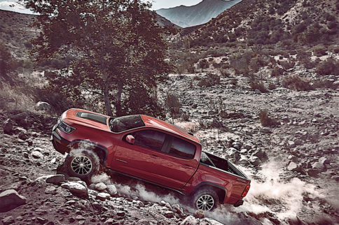 The Chevy Colorado ZR2 Is Dressed For Off-Road Mess And Coming Soon