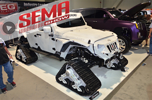 SEMA 2016: Fab Fours Teams Up With Chris Kyle Frog Foundation