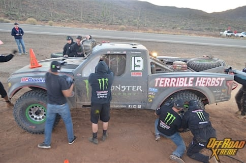Baja 1000: Race Day Down The Peninsula With Terrible Herbst