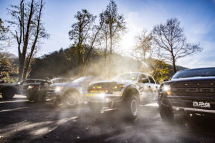 A Day On The Pavement: Slaying The Dragon With Ford Raptors