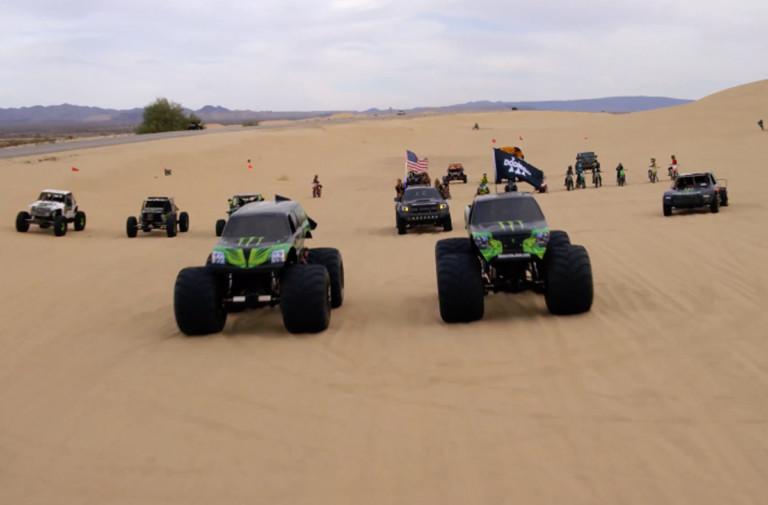 Video: Monster Energy's Doonies 3 Showcases Drivers In The Sand