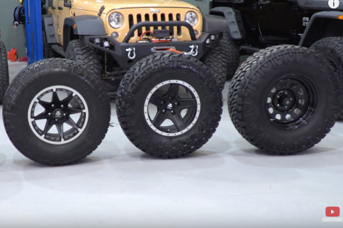 Video: Selecting The Right Size Tire For Your Jeep