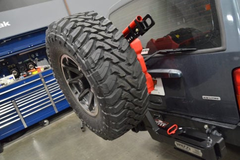 Space For A Spare: Wilco Offroad's Hitchgate Solo Tire Carrier