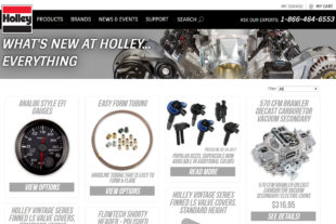 Holley's New Webpage Is  A Power Junkie's Dream