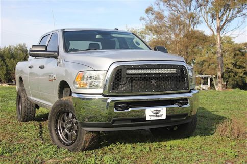 Grille, Baby, Grille: Rigid Industries LED Light Bar Grille Install