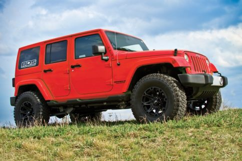 BDS Announces New Line Of 2017 Jeep Wrangler JK Lift Kits