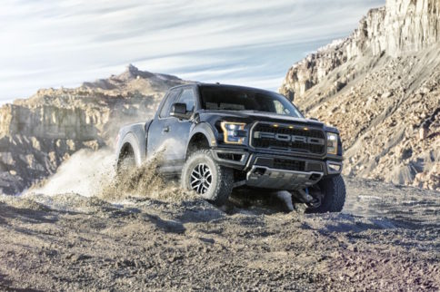 High-Tech Transfer Case Enables 2017 Raptor Terrain Management