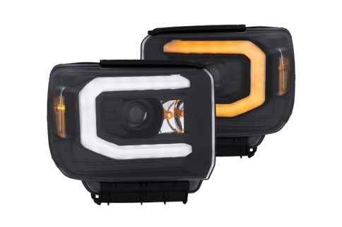 Anzo USA Introduces GMC Sierra LED Switchback Projector Headlights