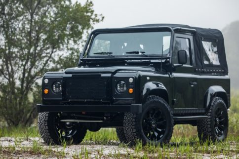 """Video: The """"Honey Badger"""" Land Rover Defender Sports An LS3"""