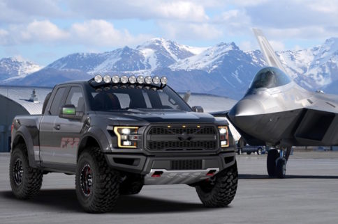 Ford To Auction One-Off, 545-Horsepower F-22 Raptor