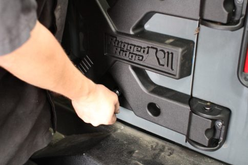 Carry That Weight: Rugged Ridge Spartacus Spare Tire Carrier Install