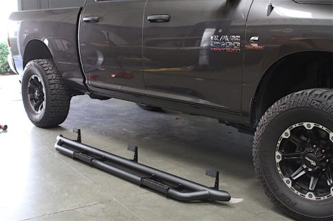 Getting A Leg Up: Rolling Big Power's RX-3 Step Bars