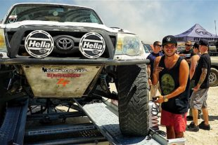 Summer Fun: Toyota Club Takes Lake Bed By Storm