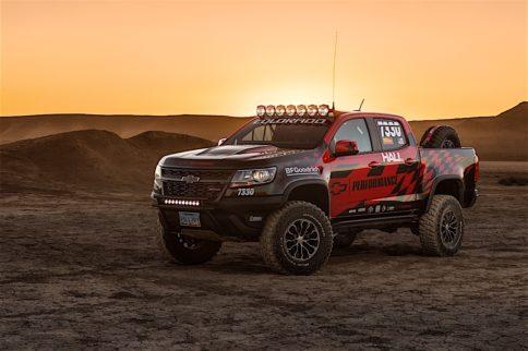Chevrolet To Race The Colorado ZR2 In BITD Vegas To Reno