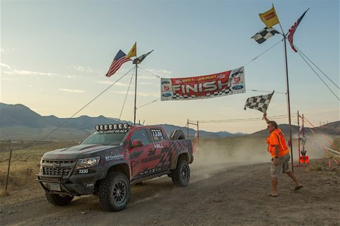 Hall Racing Takes Colorado ZR2 To The Finish Line
