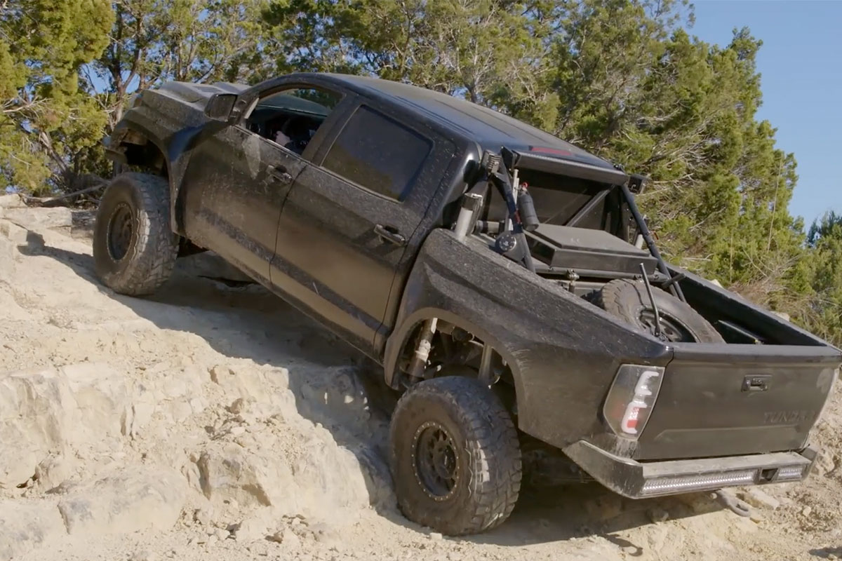 Toyota Tundra Diesel >> Ballistic With BJ Baldwin EP3: Rock Crawling In A Prerunner