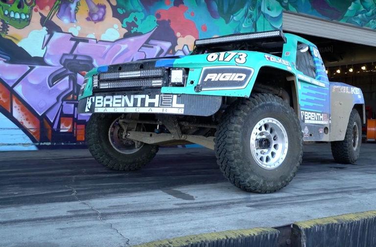 Video: Brenthel Industries Brings A Trophy Truck To Donut Garage