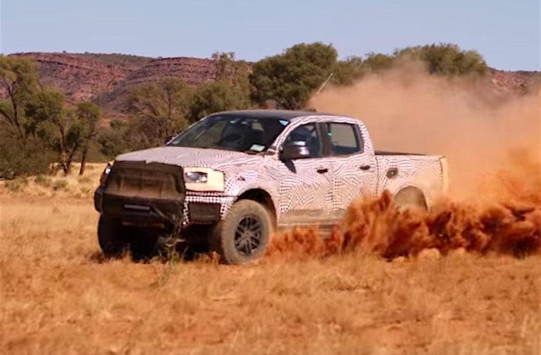 Ranger Raptor Pickup Breaks Cover Down Under