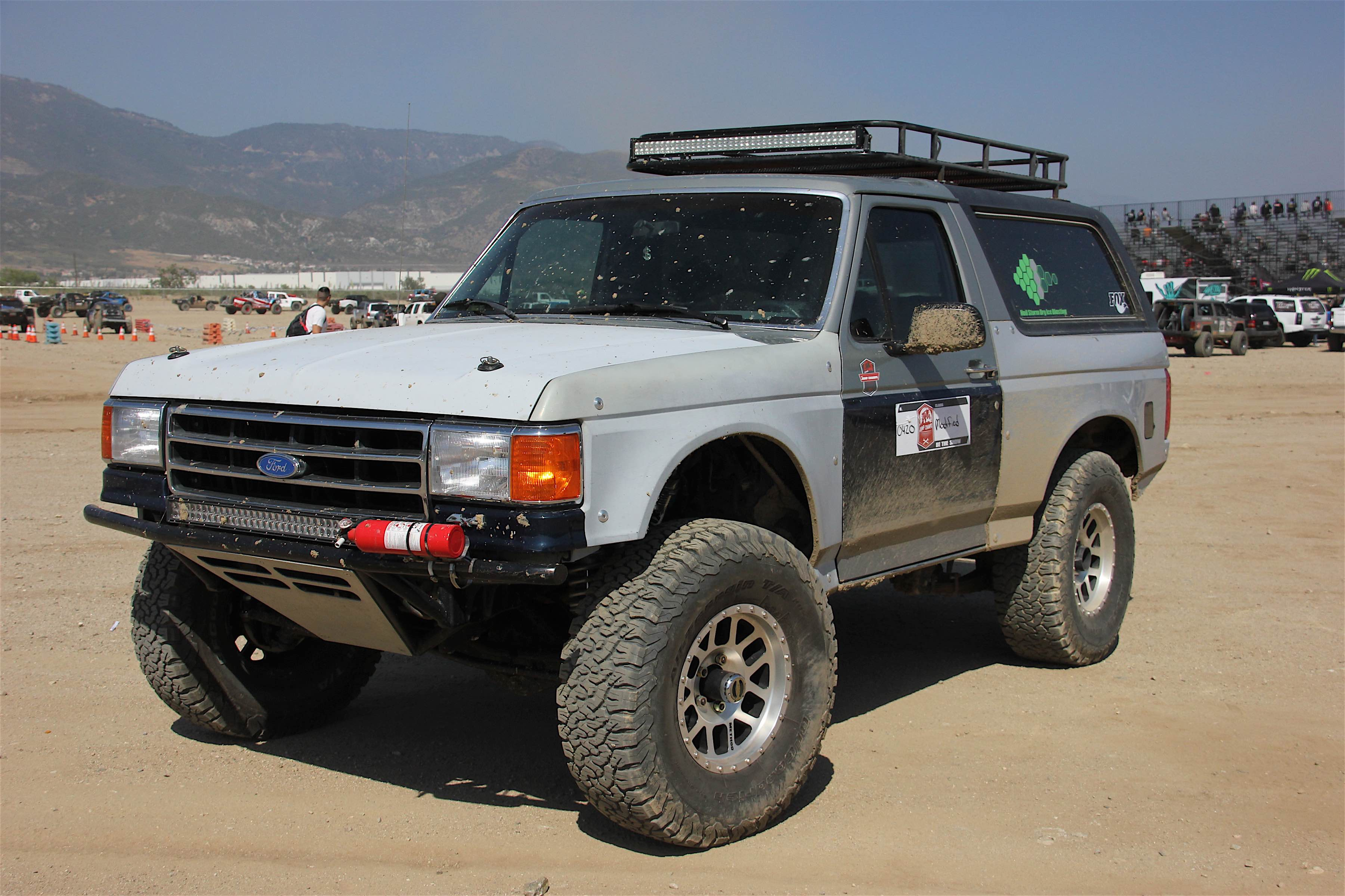 Do It All Prerunner Aaron Barrack S 1991 Ford Bronco